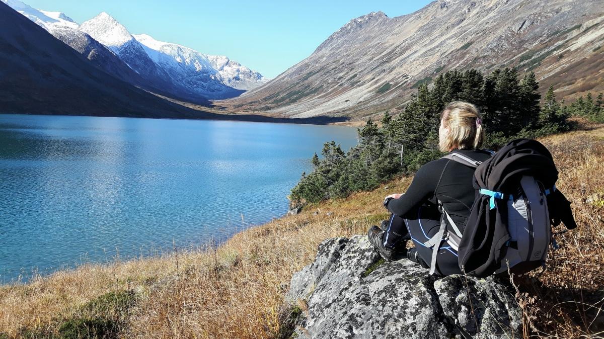Bryant lake, dernier lac avant l'Alaska ?