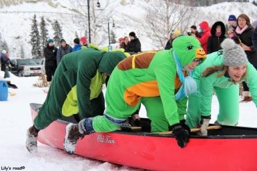 Course en canoë, Yukon Sourdough Rendez-vous
