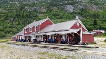 PVT Canada_Lily's road_Chilkoot trail_Gare