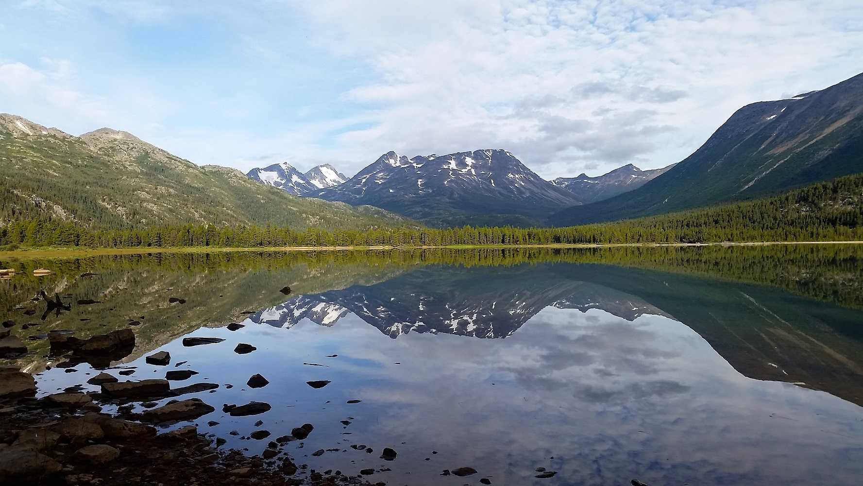 PVT Canada_Lily's road_Chilkoot trail_Lac Lindeman