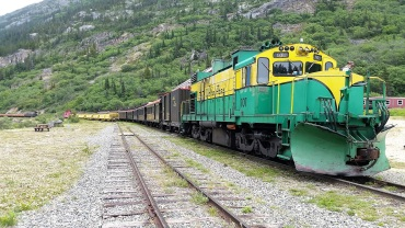 PVT Canada_Lily's road_Chilkoot trail_Train