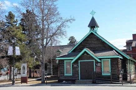 L'église anglicane de Whitehorse. ©Kelly Tabuteau