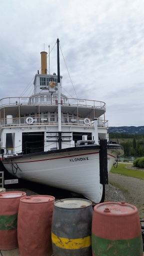 Impossible de louper le SS Klondike à l'entrée sud de la ville. ©Kelly Tabuteau