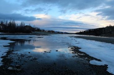 Le fleuve Yukon. ©Kelly Tabuteau