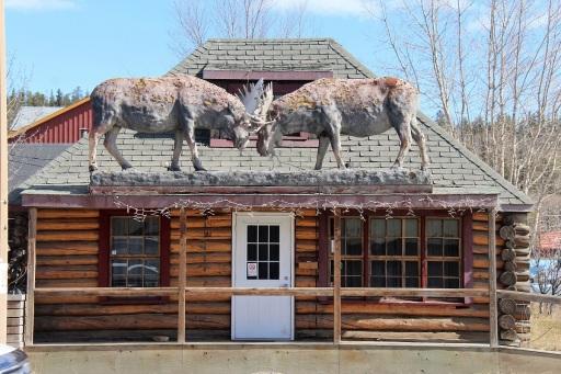 Comment peut-on savoir que ce bâtiment abrite un bar fort sympathique ? ©Kelly Tabuteau