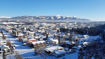 Ville de Whitehorse, Yukon, Canada
