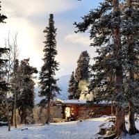 Yukon | À deux pas de Whitehorse, la cabane du film Le Dernier Trappeur