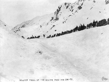Le sentier de 1898, par le col White.