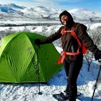 Yukon | Camping hivernal à Fish Lake
