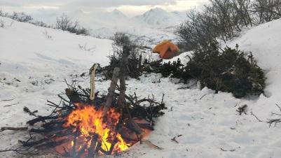 Yukon_Fish Lake_Camping_Hiver (17)